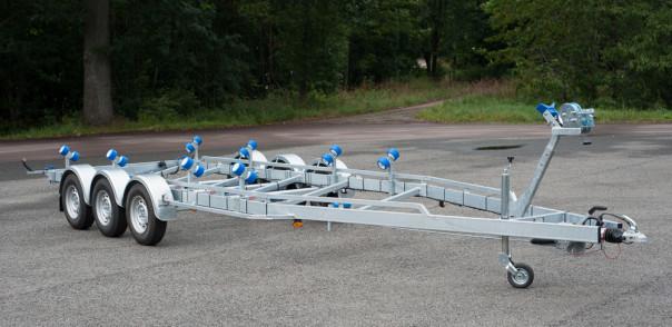 Vlemmix treaxlade båttrailer TR3500XL