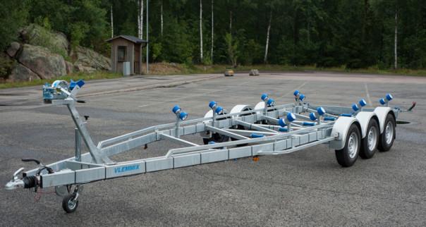 Vlemmix treaxlad båttrailer TR3500XL