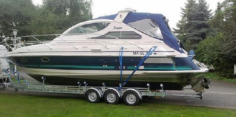 Vlemmix båttrailer TR3500XXL med båt