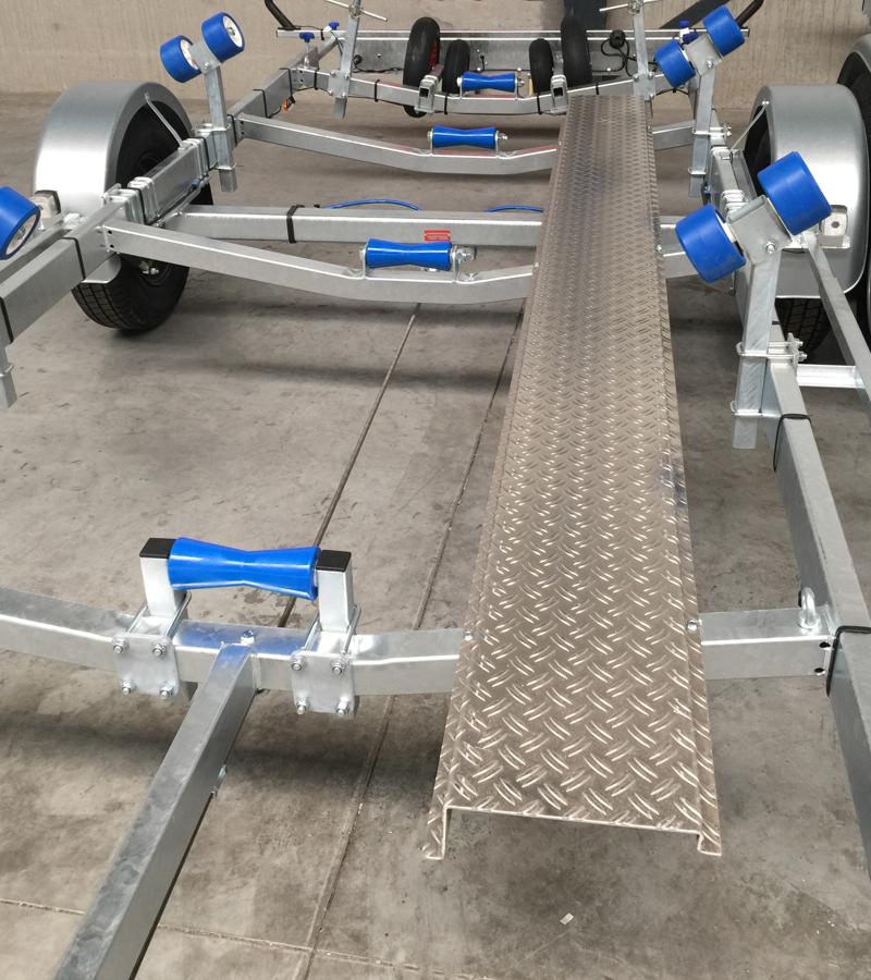 Vlemmix gångbord för båttrailer