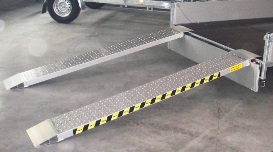 Aluminiumramper till släpvagn