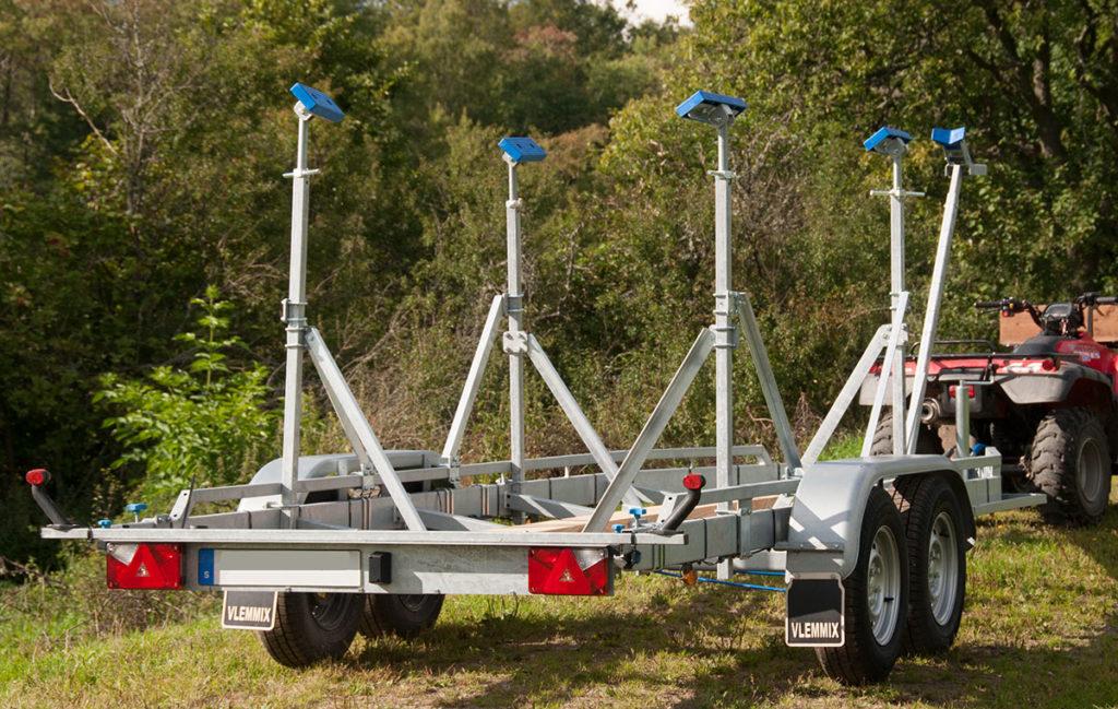 Vlemmix segelbåtstrailer TR2700L