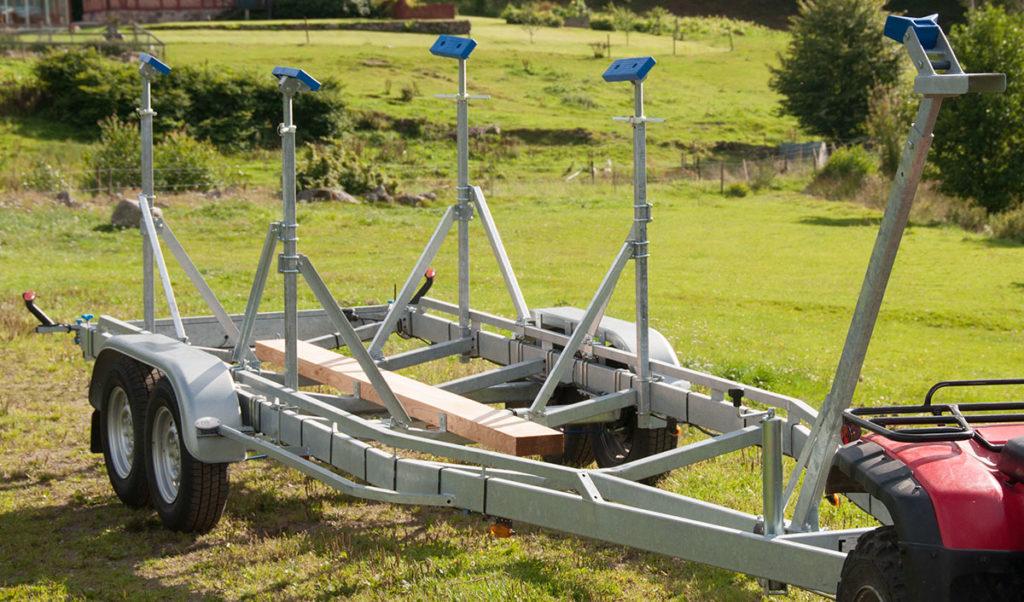 Vlemmix segelbåtsstrailer